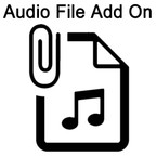 Use this item to Add ONE Audio File to your sound module.