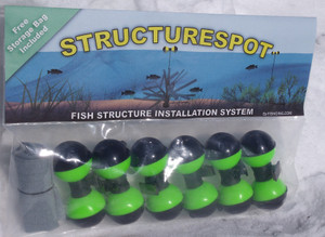 smallspot six pack fish habitat structure markers