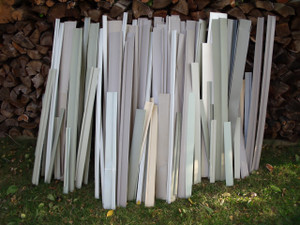 Loose pvc limbs for using as artificial fish habitat, the project pack