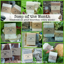 Soap of the Month Subscription - receive a different soap on your doorstep each month.