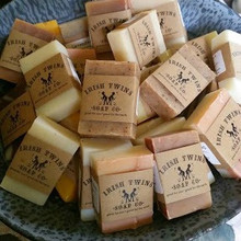 A variety of rustic soaps, 2 oz. each. Perfect for weddings, showers and travel