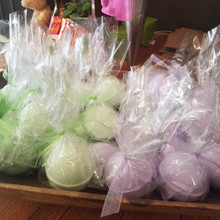 Lavender or Spearmint Eucalyptus Medium Bath Bombs made with essential oils