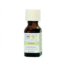 Aura Cacia Lemon Essential Oil, .5 oz.