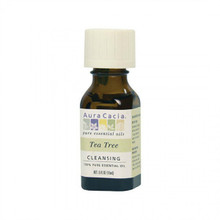 Aura Cacia Tea Trea Essential Oil, .5 oz.
