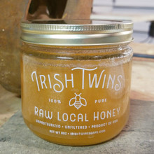 Irish Twins Raw Honey, 8 oz.