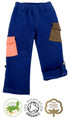 Boys Cotton Roll Up Trousers with Elasticated Waist