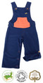 Toddler Boys Blue Dungarees