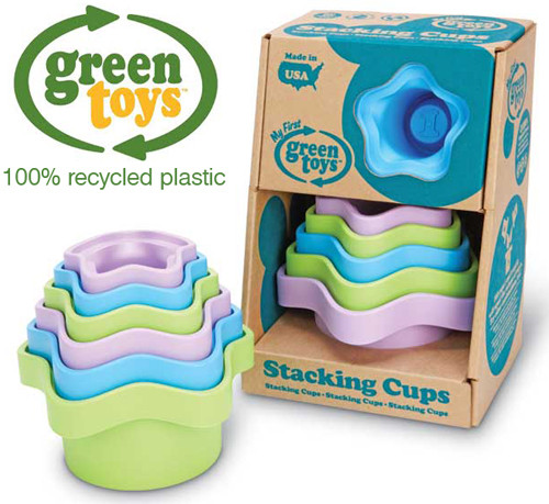 Baby Stacking Cups Eco Recycled Toy Green Toys