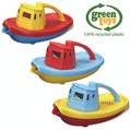 Green Toys Bath Eco Baby Bath Toy Tug Boat Incl. P+P