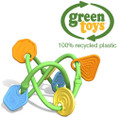 Green Toys Twist Baby Teether Recycled Plastic Eco Toy