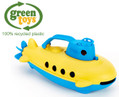 Green Toys Yellow Submarine Recycled Plastic Eco Toy