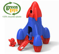 Green Toys Kids Rocket & Astronauts Recycled Plastic Eco Toy