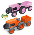 Green Toys Kids Tractor Recycled Plastic Eco Toy
