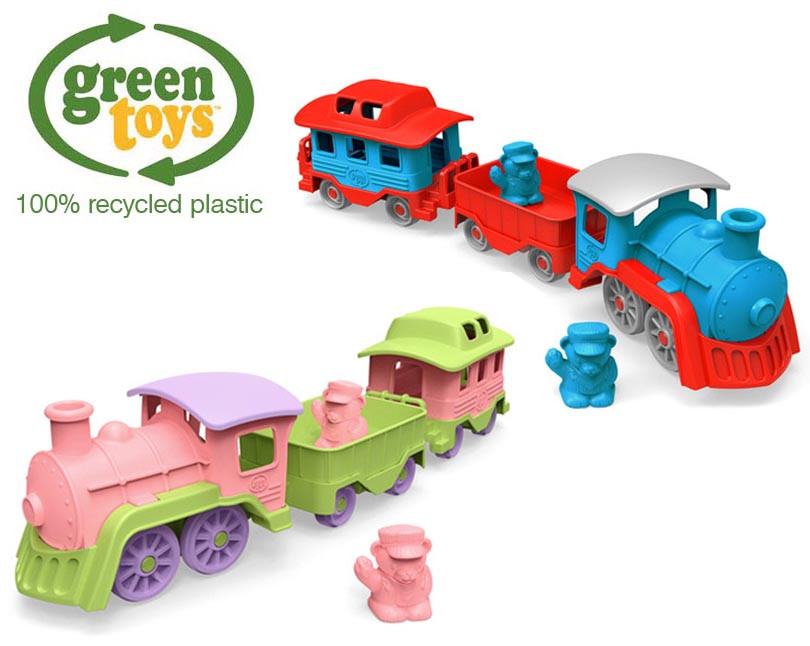 Green Toys Kids Train Recycled Plastic Eco Toy