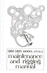 Vintage Great Lakes Maintenance & Rigging Manual