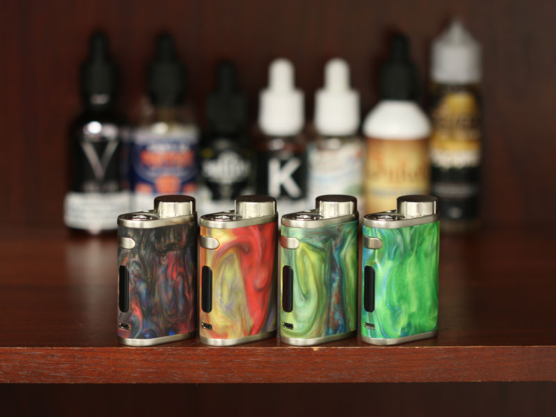 Eleaf iStick Pico Resin, in several colors