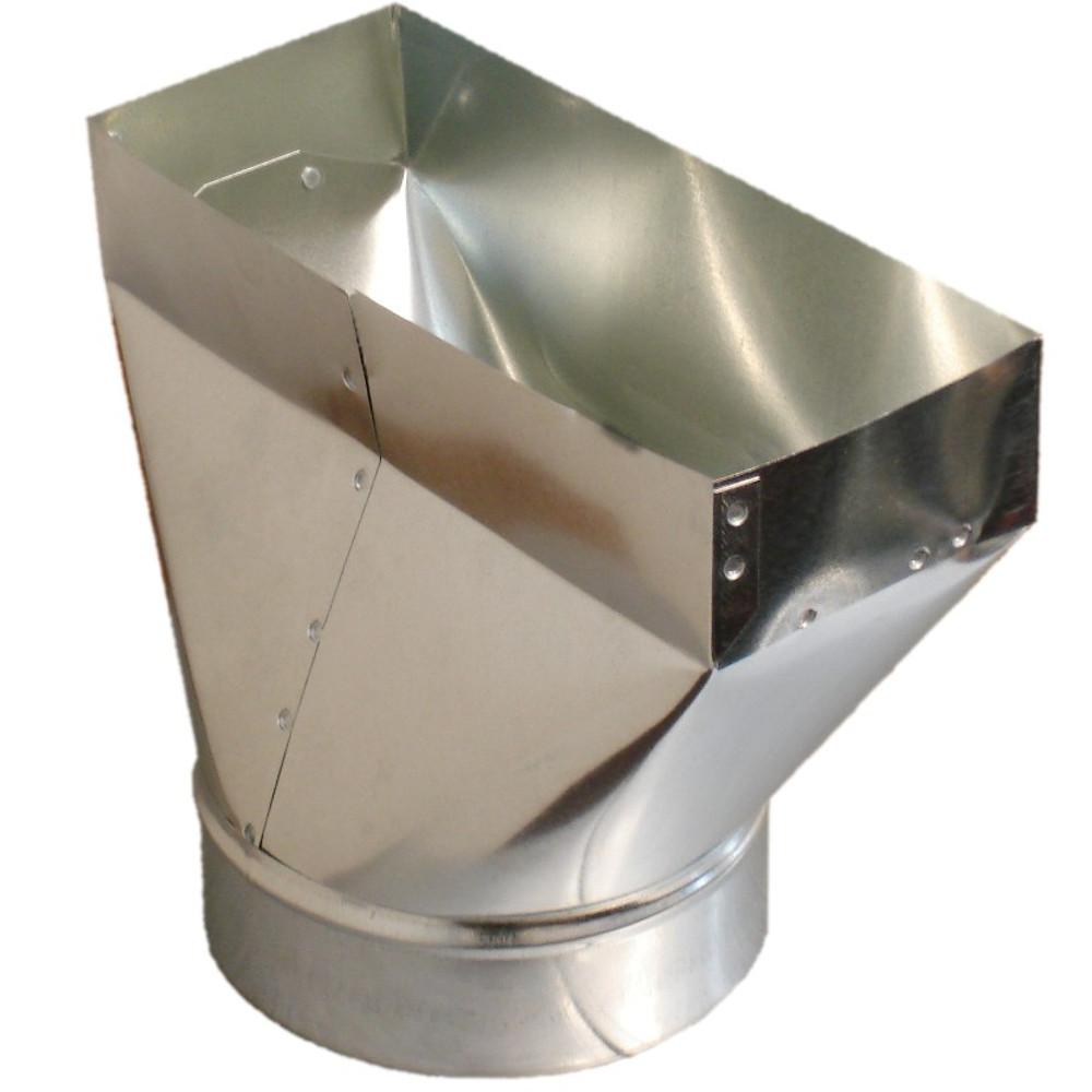 Duct Register Boot Sheet Metal Vent