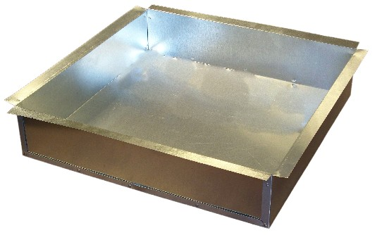 Hvac Galvanized Sheet Metal Return Air Can