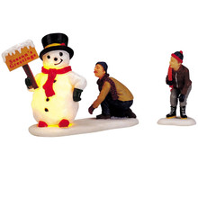 Lemax Village Collection Frosty's Friendly Greeting, Set Of 2 #04511