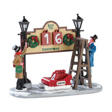 Lemax Village Collection Lamplighter Countdown #53213