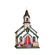 Lemax Village Collection Buckleberry Church #55003