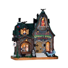 Lemax Village Collection Creepy Doll Shop #65071