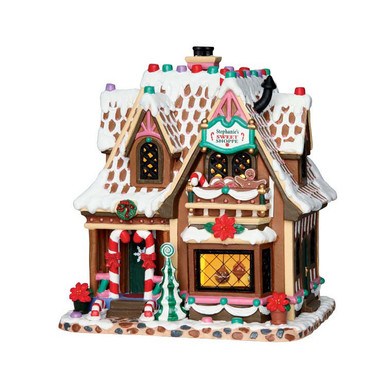Lemax Village Collection Stephanie S Sweet Shop 65153