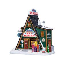 Lemax Village Collection The Summit Ski School #65156