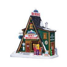 Lemax Village Collection The Summit Ski School #65156