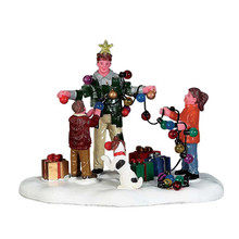 Lemax Village Collection Christmas Tree Dad #73308