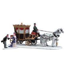 Lemax Village Collection The Duchess Arrives, Set Of 2 #73309