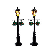 Lemax Village Collection Old English Lamp Post, Set Of 2 #74231