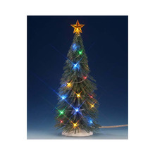 Lemax Village Collection Chasing Multi Light Spruce Tree, Large #74265