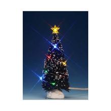 Lemax Village Collection Multi Light Evergreen Tree, Medium #74266