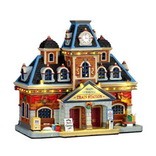 Lemax Village Collection Main Terminal Train Station #75194