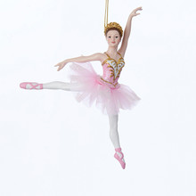Kurt Adler 6.25in Dancing Ballerina Ornament #C7994