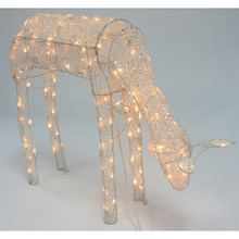 42in Animated Lighted Feeding Deer