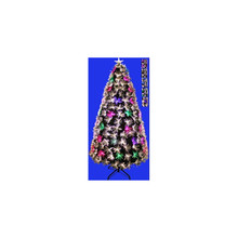 4ft Fiber Optic Christmas Tree in Warm White & Multi