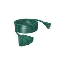 Power Block 25ft Green Extension Cord