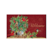 Briarwood Lane Holiday Arrangement Doormat #D00518