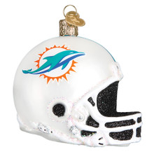 Old World Christmas Miami Dolphins Helmet Ornament #71817