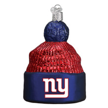 Old World Christmas New York Giants Beanie Ornament #72214