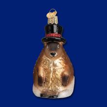 Old World Christmas Groundhog Ornament #12412