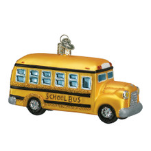 Old World Christmas School Bus Ornament #46007