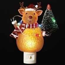 Holiday Deer LED Night Light #160100RI