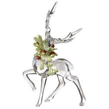 Kissing Krystal Mistletoe Reindeer #KK343