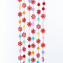 Kurt Adler 9ft Multi Candy Garland #D3002