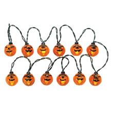 Lemax Village Collection 12 Lighted Pumpkin Garland String #24759