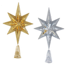 Kurt Adler Gold or Silver Miniature Tree Topper #H9555