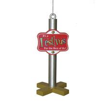 Kurt Adler Seinfeld Festivus Pole Ornament #FV1171